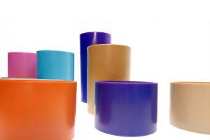 Bobine per Filati in diversi colori: particolare - Fratelli Marchesi Srl