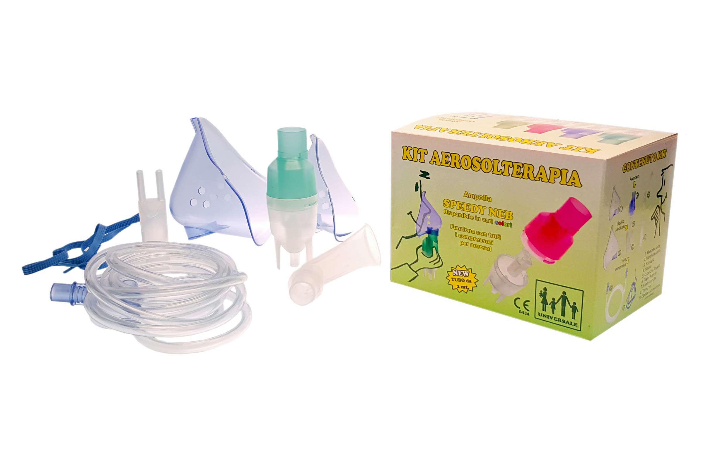 KIT per Aerosolterapia Speedy con nebulizzatore e confezione - Fratelli Marchesi Srl