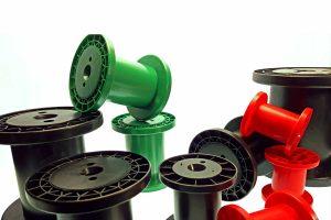 Rocchetti a Norma DIN 46399 in diversi colori: particolare - Fratelli Marchesi Srl